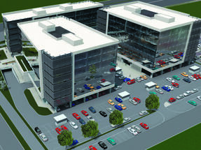 GTC starts building fourth business complex in New Belgrade - CBS International named exclusive agent for Fortyone complex