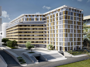 Energoprojekt is building residential and business complex in Block 11a in Novi Beograd