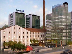 Construction of Radisson Blu Hotel in Belgrade nearing its end