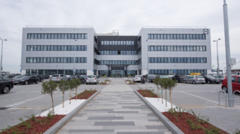 This is the first LEED Platinum building in Serbia