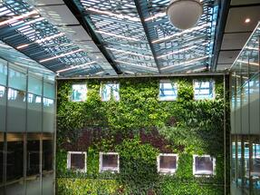 Green oases - a new trend in the development of residential and office buildings
