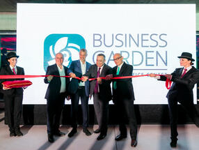 Business Garden, most modern A-class office building in downtown Belgrade, Grandious Opening