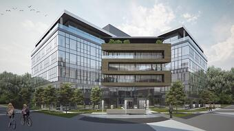 New Business oasis on New Belgrade, Serba: Green ESCAPE of up to 65,000 m2